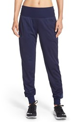 Women's Brooks 'Run Thru' Mesh Jogger Pants Navy