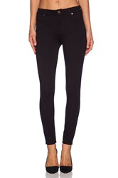 7 For All Mankind High Waisted Skinny Black