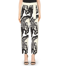 Issa Ola Abstract Print Trousers Horse