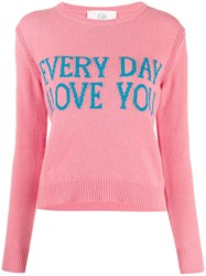 Alberta Ferretti Everyday I Love You Jumper 60