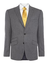 Simon Carter Flannel Jacket Light Grey