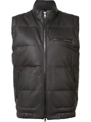 Vince Down Filled Gilet Brown
