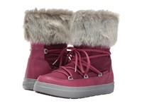 Crocs Lodgepoint Lace Boot Pomegranate Women's Boots Pink