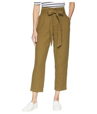Ag Adriano Goldschmied Darena Pants Olive Grove Casual Pants Brown