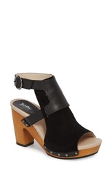 Jambu Gina Platform Sandal Black Leather