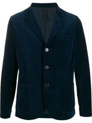 Harris Wharf London Ribbed Design Blazer 60