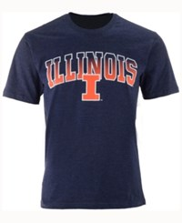 Colosseum Men's Illinois Fighting Illini Gradient Arch T Shirt Navy