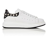 Alexander Mcqueen Men's Studded Oversized Sole Low Top Sneakers White