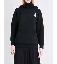 Chocoolate Menu Print Jersey Hoody Black