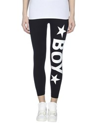 Boy London Trousers Leggings Women Black