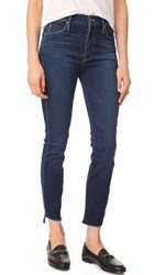Mother Stunner Ankle Step Fray Jeans After Hours