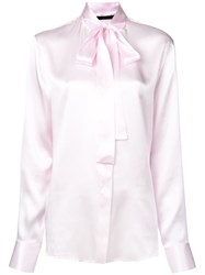 Haider Ackermann Pussy Bow Blouse Pink