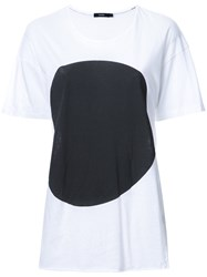 Bassike Dot T Shirt White