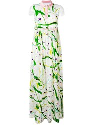 Si Jay Abstract Print Dress