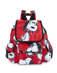 Le Sport Sac Voyager Backpack Snoppy Toss