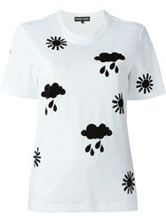 Markus Lupfer Weather Patch T Shirt White