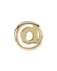 14K Gold Plated At Sign Charm Kendra Scott