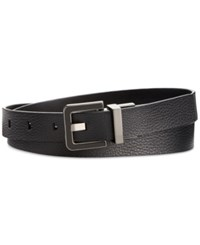 Styleandco. Style Co. Stingray Embossed Double Metallic Belt Only At Macy's Black