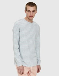 Insight Subversion Ls Tee In Grey Marle Light Grey