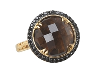 Delatori Smokey Quartz Ring 20 08 P422 33