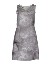 Insideout Short Dresses Grey