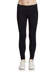 Miraclesuit Performance Seamed Tummy Control Leggings Black