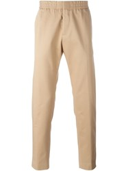 Msgm Casual Trousers Nude And Neutrals