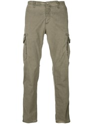 Jeckerson Slim Fit Chino Trousers Green