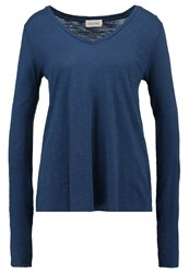 American Vintage Long Sleeved Top Sphere Blue