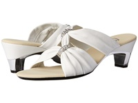 Onex Kylee White Silver Women's Dress Sandals