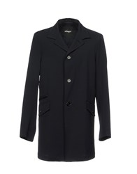 Allegri Coats And Jackets Overcoats Dark Blue