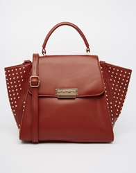 Johnny Loves Rosie Studded Winged Bag Brown