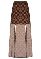 The Fifth Label Collectable Maxi Skirt Rhapsody Brown