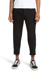 Barney Cools B. Relaxed Chinos Taped Black Crop