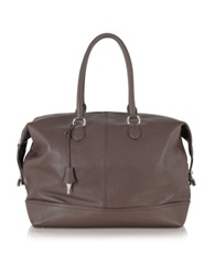 Buti Dark Brown Leather Weekender