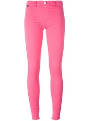 Love Moschino Skinny Jeans Pink Purple