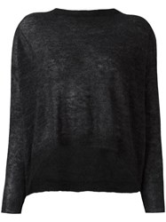 Societe Anonyme 'Jude' Cropped Jumper Grey