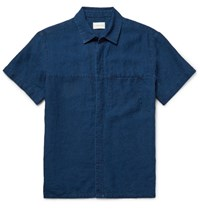 Simon Miller Slim Fit Denim Shirt Indigo
