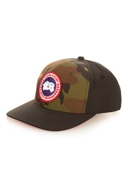 Canada Goose Logo Embroidered Camouflage Print Cap