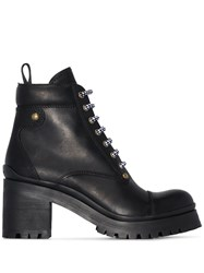 Miu Miu Hiking 80Mm Boots Black