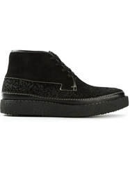 Kenzo 'Loden' Boots Black