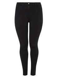 Dorothy Perkins Curve Plus Size Black Fly Front Jeggings
