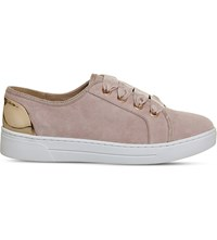 Office Adore Suede Trainers Pink