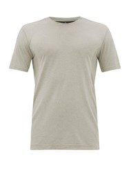 Reigning Champ Performance Mesh Panelled Jersey T Shirt Grey