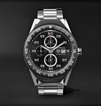 Tag Heuer Connected Modular 45Mm Titanium And Ceramic Smartwatch Silver