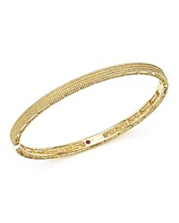 Roberto Coin 18K Yellow Gold Symphony Braided Bangle Bracelet