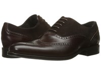 Stacy Adams Stanbury Wingtip Oxford Brown Men's Lace Up Wing Tip Shoes