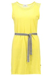 Le Temps Des Cerises Flama Jersey Dress Mango Yellow