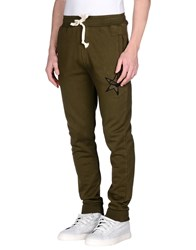 My T Shirt Trousers Casual Trousers Men Military Green