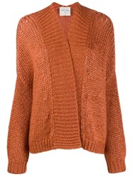 Forte Forte Oversized Cardigan Orange